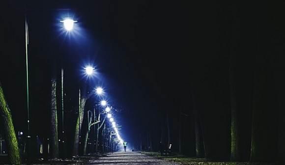 Курган оснащают новыми световыми конструкциями