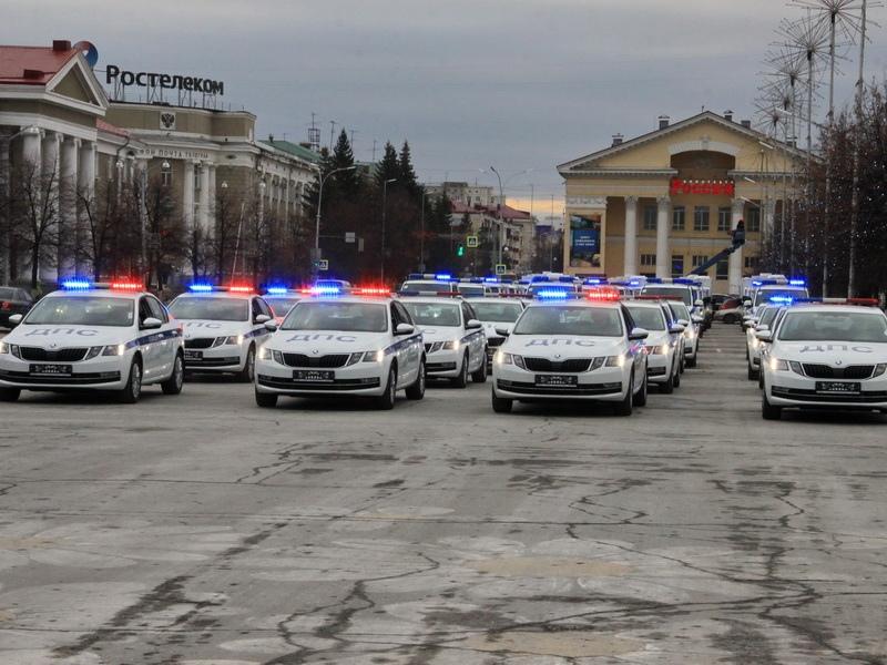 Областная Госавтоинспекция получила новые патрульные машины