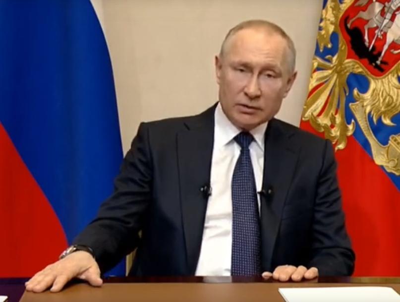 Президент Владимир Путин объявил следующую неделю нерабочей