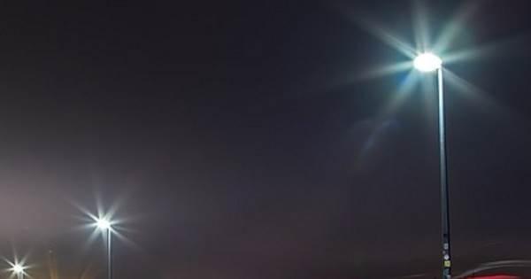 На улицах Кургана заработали новые светильники