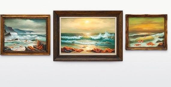 Картины Бэнкси ушли на аукционе за три миллиона долларов