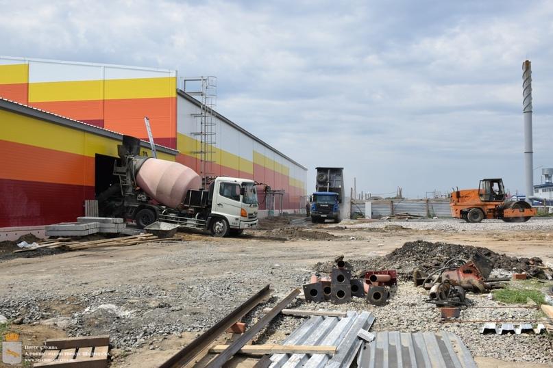 Строительство шадринской ледовой арены закончат к концу года