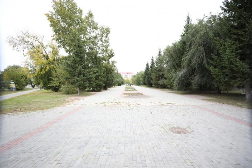Городской сад Кургана реконструируют