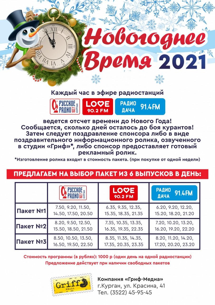 Новогоднее время 2021